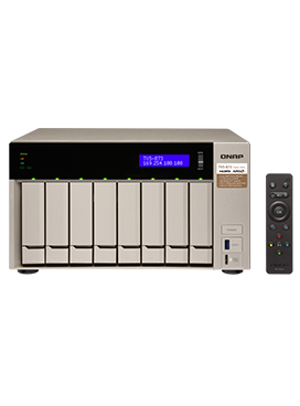 QNAP TVS-873e 8GB Diskless Professional-grade NAS only $1227.56 from QNAP Direct