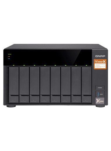 QNAP TS-832X-2G 32TB with 4TB Seagate IronWolf Drives