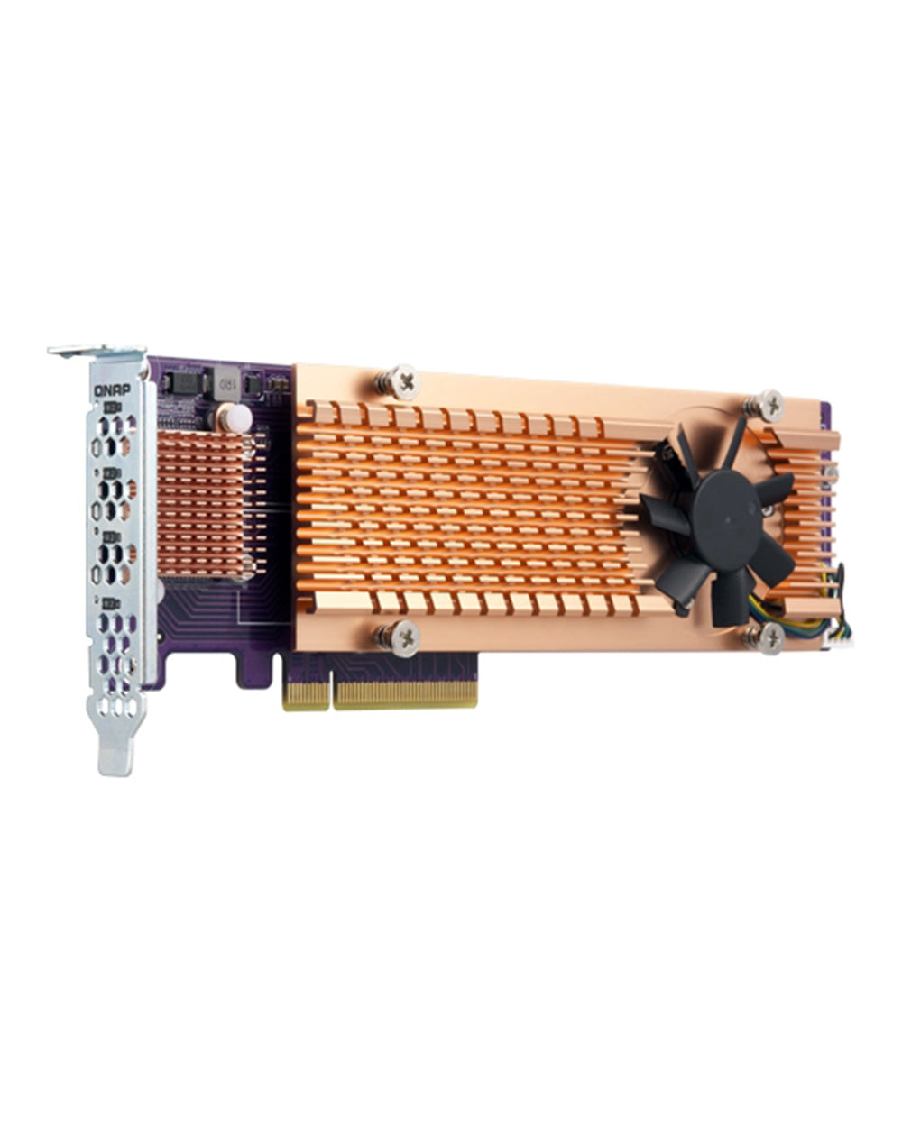 Add a QNAP QM2-4P-384 Quad M.2 2280 PCIe to your NAS for only $269.00 from $269.00