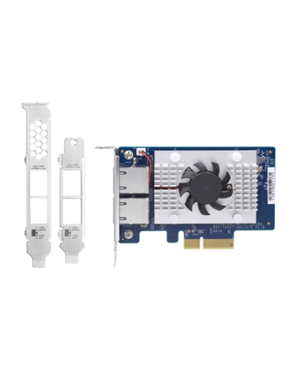 QXG-10G2T-107 Dual-port BASET 10GbE network expansion card
