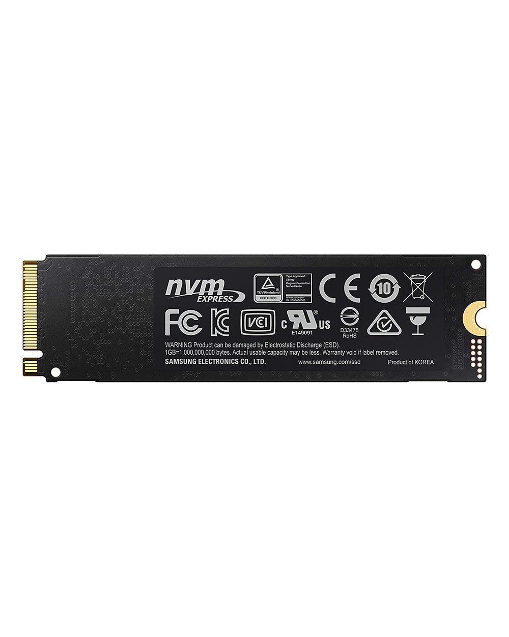 250GB - Samsung 970 EVO NVMe M.2 Internal SSD