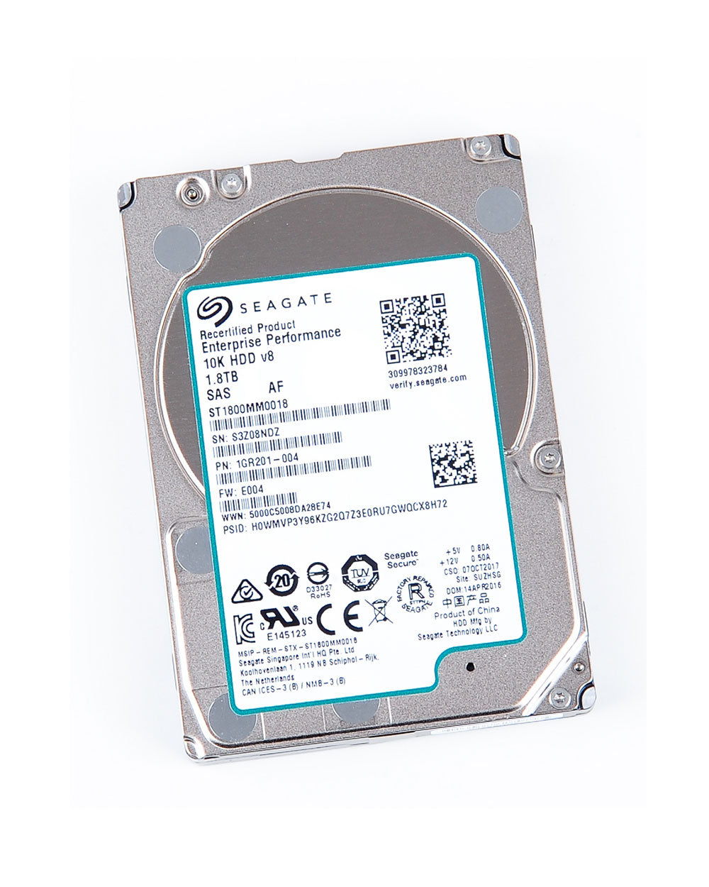 1.8TB - Seagate Enterprise 2.5 inch SAS 12Gb/s - ST1800MM0018