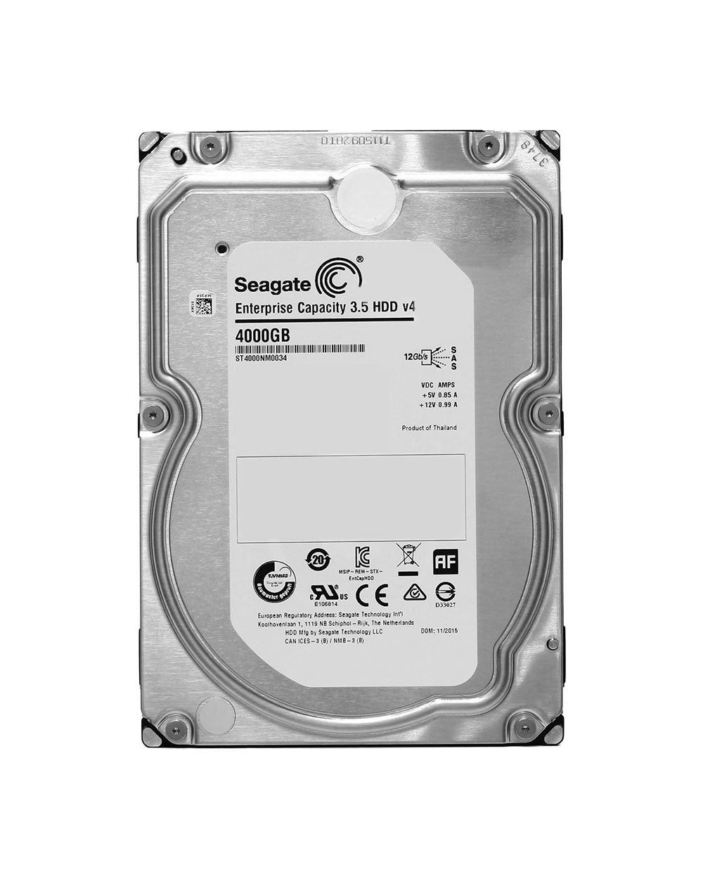 4TB - Seagate SAS Enterprise - ST4000NM0034