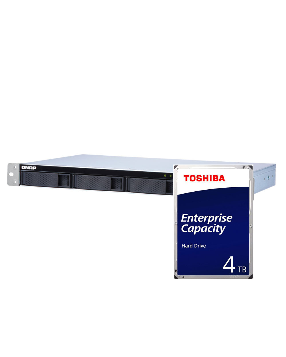 QNAP TS-431XeU-2G 16TB with 4TB Toshiba Enterprise Drives