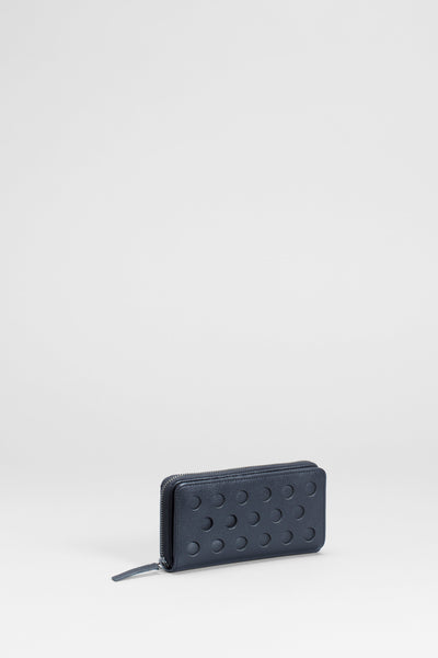 Barta Leather Wallet Front | BLACK