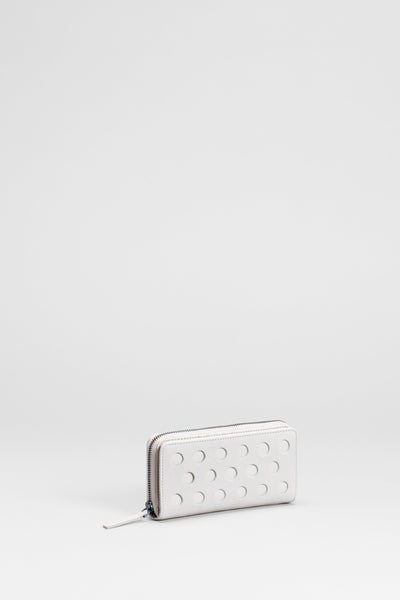 Barta Leather Wallet Front | BLANC
