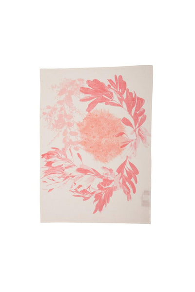 Flowering Tea Towel