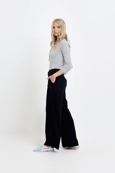 Wide Leg Bamboo Pants