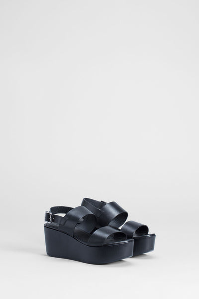 Black Bremer Wedge
