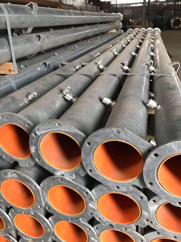 Lined Pivot Pipe 22ft 6 5/8