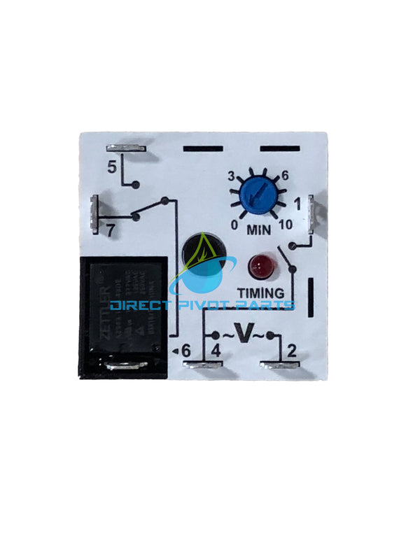 Macromatic Time Delay Relay 10 Amp 240V RT26A-22 Timing 0.1-10 Minute