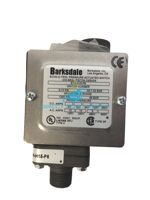 Barksdale Enclosed Pressure Switch