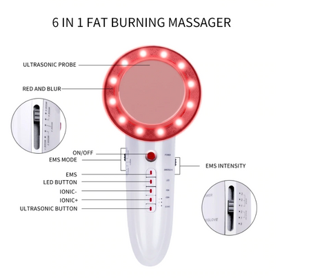 ULTRASONIC CAVITATION EMS SLIMMING BEAUTY DEVICE