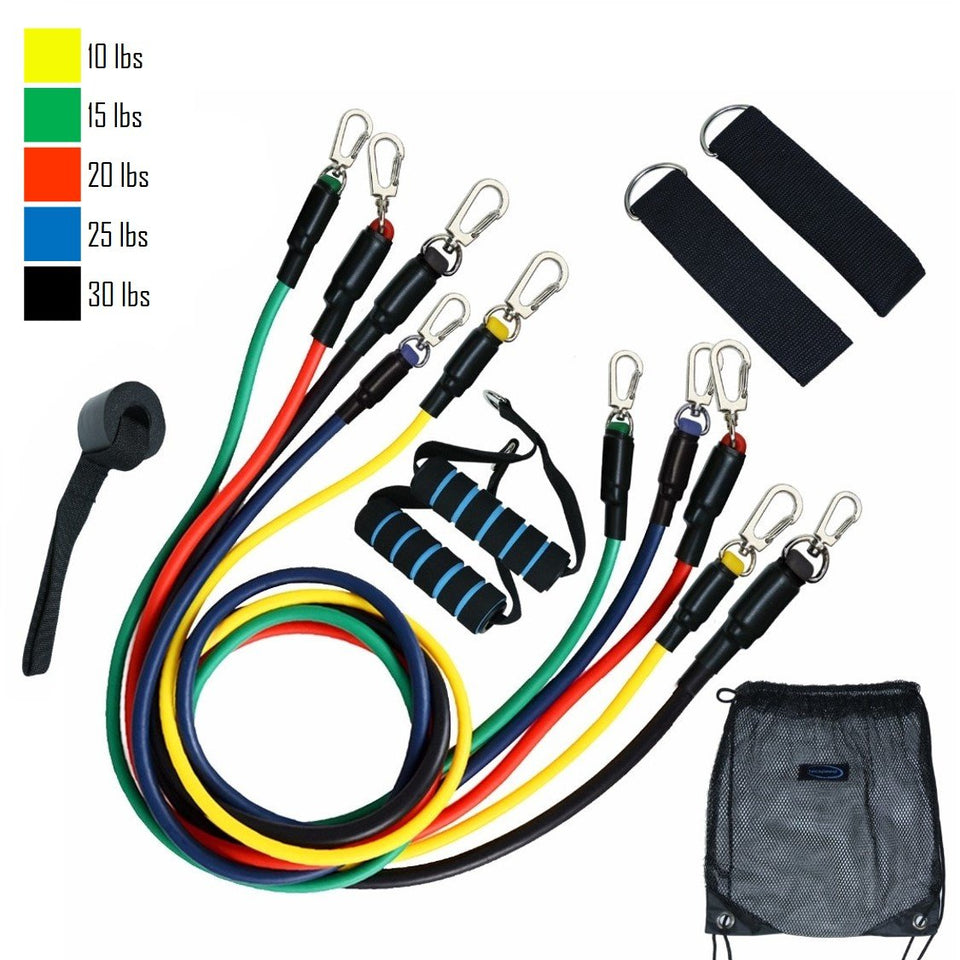 ResiBands™ 11Pc Resistance Bands Set