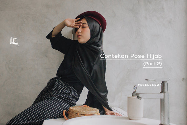 Contekan Pose Hijab (Part 2)