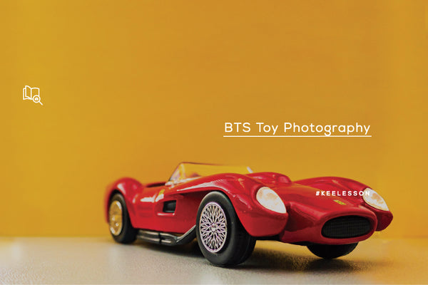BTS Toy Photography