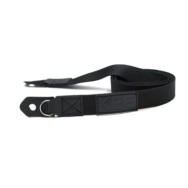 {KEE INDONESIA}-{Mambae Neck Camera Strap Black}-{Mambae Edition}