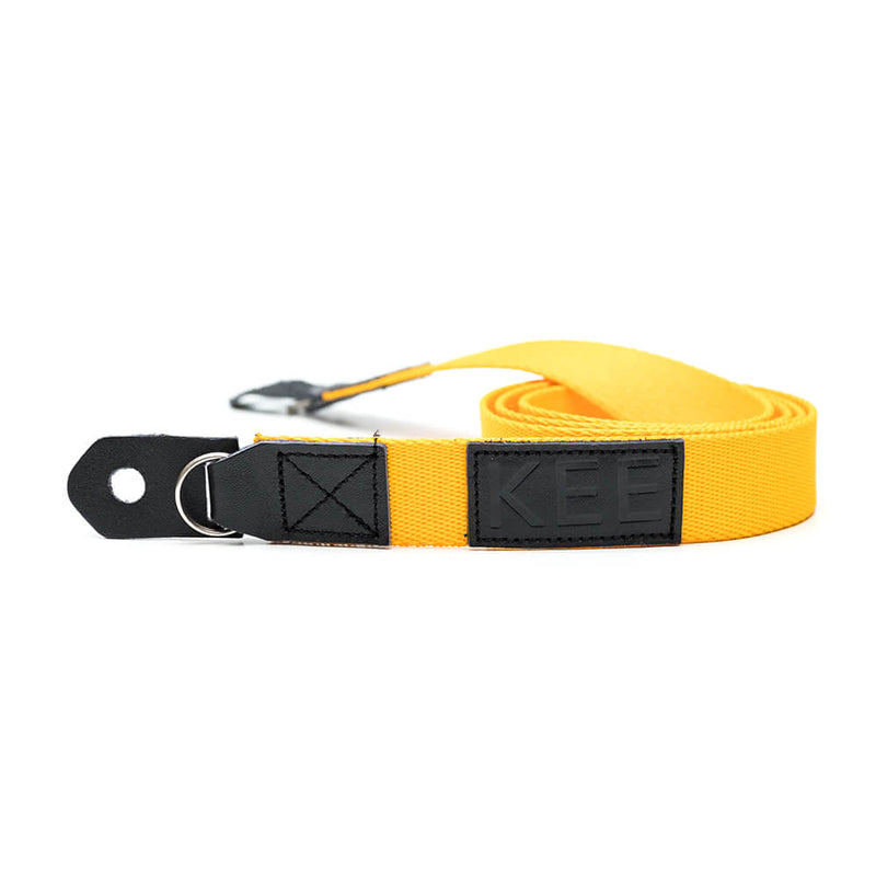{KEE INDONESIA}-{Mambae Neck Camera Strap Yellow}-{Mambae Edition}