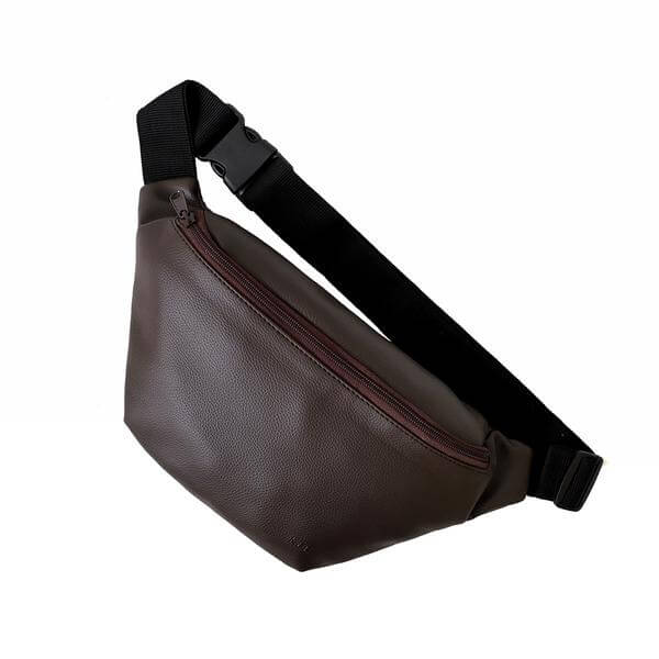 kee-indonesia-Spider Sling Bag Dark Brown