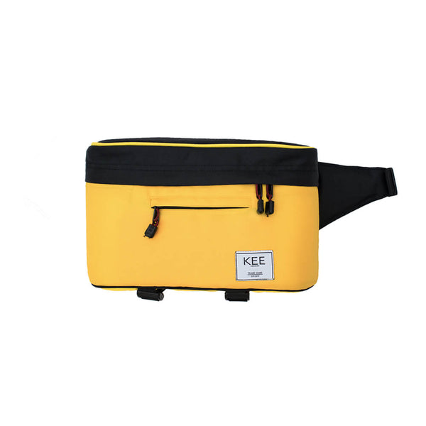 {KEE INDONESIA}-{Beetle Camera Sling Bag Black Yellow}-{Beetle Edition}