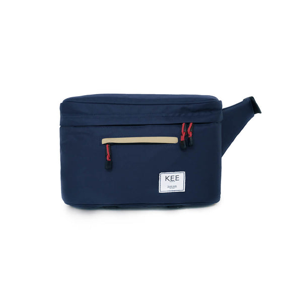 Beetle Camera Sling Bag Navy Cream-KEE INDONESIA