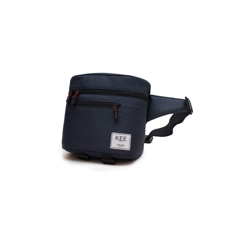 {KEE INDONESIA}-{Baby Beetle Camera Sling Bag Navy}-{Baby Beetle Edition}
