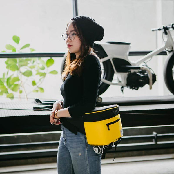 Baby Beetle Camera Sling Bag Black Yellow-KEE INDONESIA