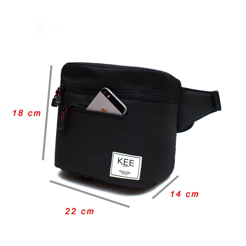 {KEE INDONESIA}-{Baby Beetle Camera Sling Bag Black Yellow}-{Baby Beetle Edition}