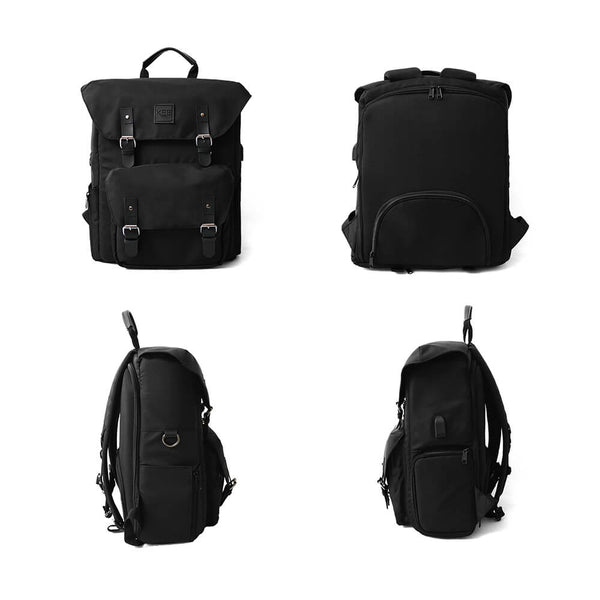 {KEE INDONESIA}-{Bumblebee 2.0 Camera Backpack Dark Brown}-{Bumblebee Edition 2.0}