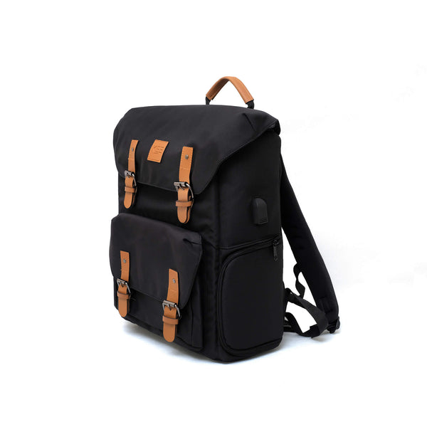 {KEE INDONESIA}-{Bumblebee 2.0 Camera Backpack Tan}-{Bumblebee Edition 2.0}