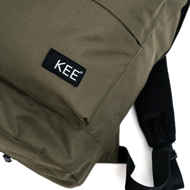 kee-indonesia-Alvar Backpack Green + Camera Insert.