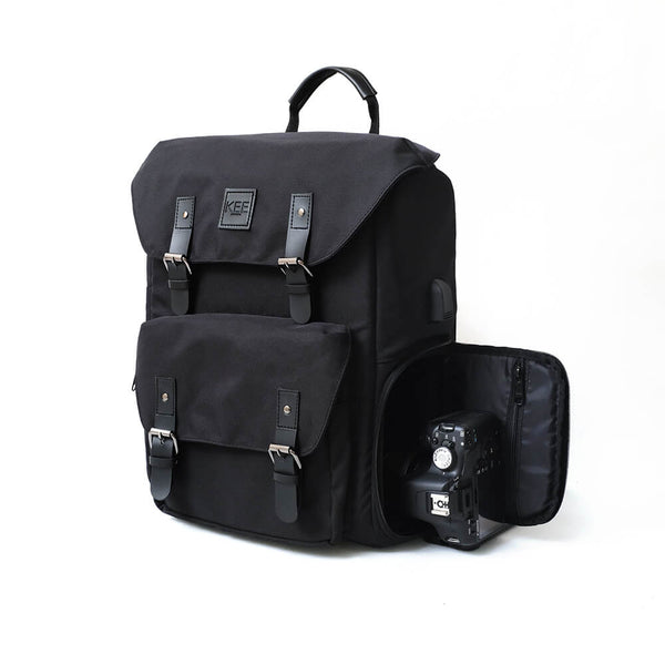 {KEE INDONESIA}-{Bumblebee 2.0 Camera Backpack Black}-{Bumblebee Edition 2.0}