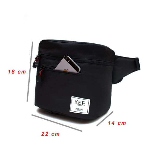 {KEE INDONESIA}-{Baby Beetle Camera Sling Bag Dark Grey}-{Baby Beetle Edition}