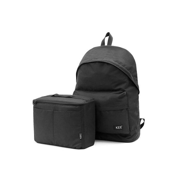 kee-indonesia-Alvar Backpack Black + Camera Insert.