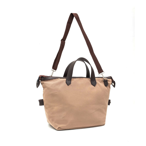 kee-indonesia-Flea Duffle Bag Brown