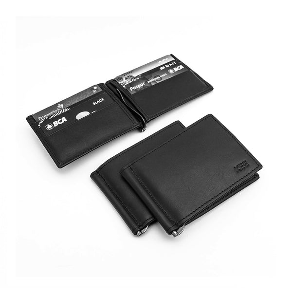 Racca Slim Wallet Black-KEE INDONESIA