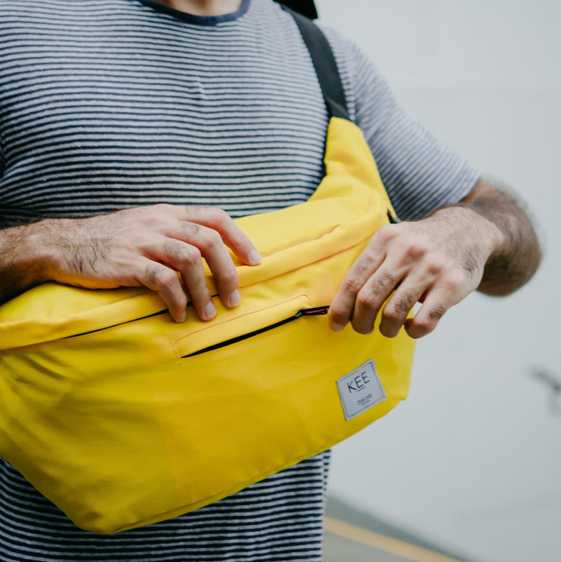 kee-indonesia-Thrips Sling Bag Yellow