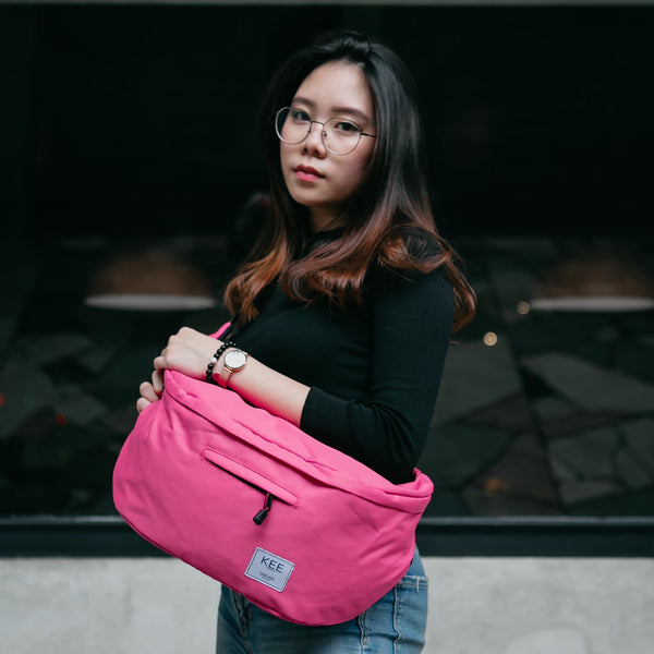 kee-indonesia-Thrips Sling Bag Pink
