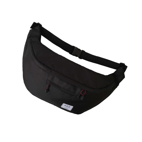 Thrips Sling Bag Black-KEE INDONESIA
