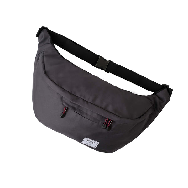 {KEE INDONESIA}-{Thrips Sling Bag Dark Grey}-{Thrips Edition}