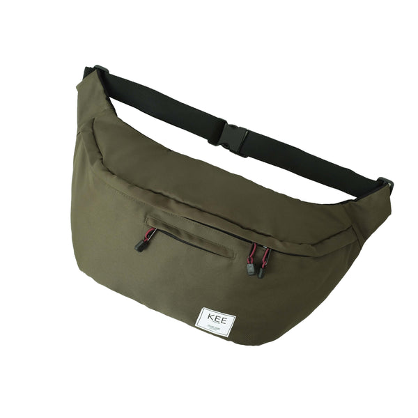{KEE INDONESIA}-{Thrips Sling Bag Green}-{Thrips Edition}