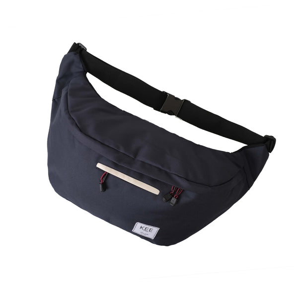 Thrips Sling Bag Navy Cream-KEE INDONESIA