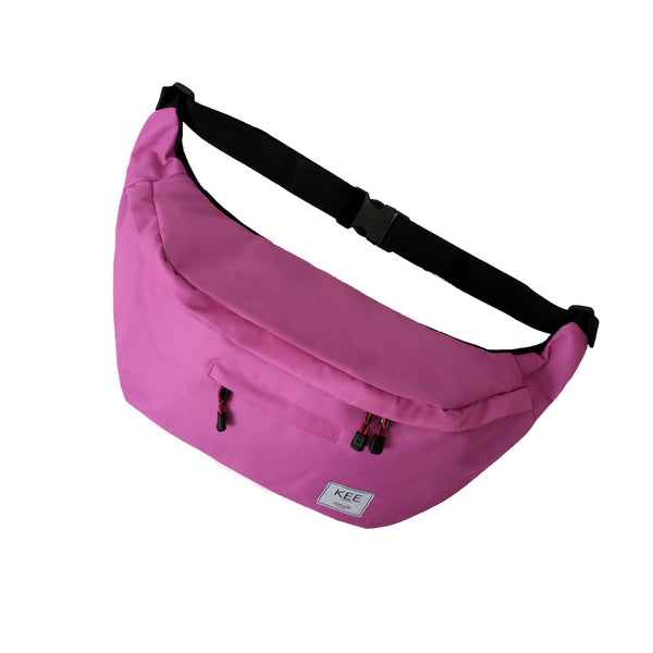 {KEE INDONESIA}-{Thrips Sling Bag Pink}-{Thrips Edition}