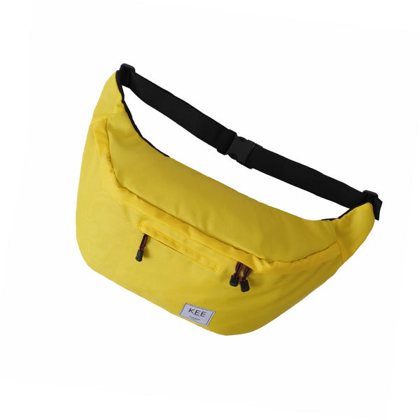 {KEE INDONESIA}-{Thrips Sling Bag Yellow}-{Thrips Edition}