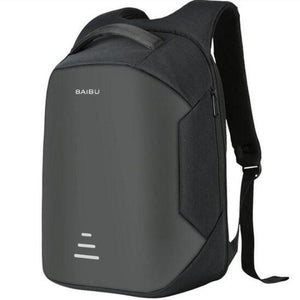 Anti Theft Laptop Backpack Usb Charging Port Black / China