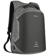 Load image into Gallery viewer, Anti Theft Laptop Backpack Usb Charging Port Gray / China