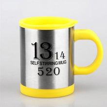 Load image into Gallery viewer, Self Stirring Mug Stainless Steel