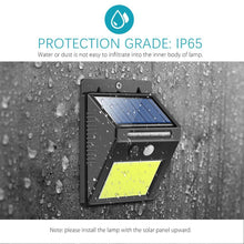 Load image into Gallery viewer, Waterproof  Motion Sensor Solar Security Light