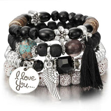 Load image into Gallery viewer, Crystal Bead Bracelets for Women