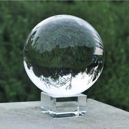 Artificial Crystal Glass Ball for Photography